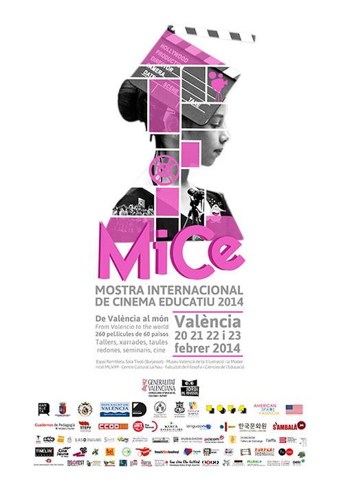 Cartell Mostra de Cinema Educatiu MICE