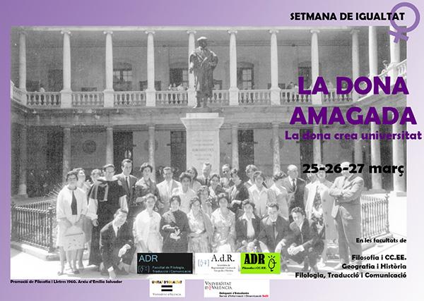 Cartell de La Dona Amagada, La Dona crea Universitat