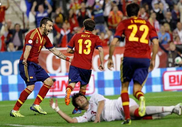 La selecció espanyola de futbol, La Roja.