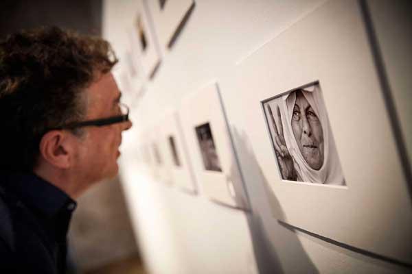 Fotografies de David Segarra sobre la franja de Gaza, que es podien adquirir a benefici del poble palestí.