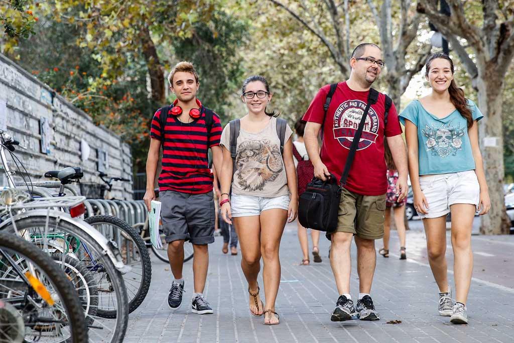 Barbara, Jose, David i Ana.