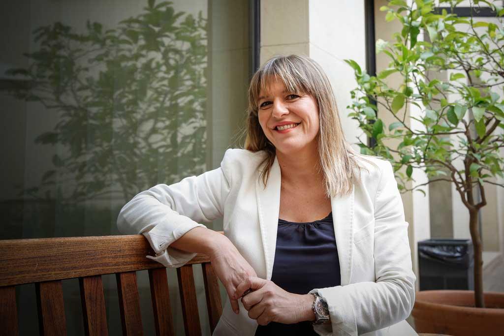 Ángeles Cuenca García, professora del Departament de Dret Mercantil de la Universitat de València i representant de la institució acadèmica a l'Observatori de Publicitat no Sexista de la Comunitat Valenciana.