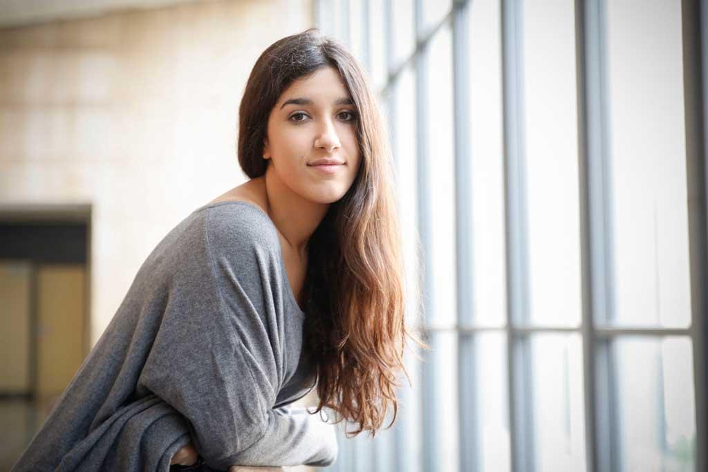 Laura Peris Bolta és secretària general del Bloc d'Estudiants Agermanats a la Universitat de València. Foto: Miguel Lorenzo.
