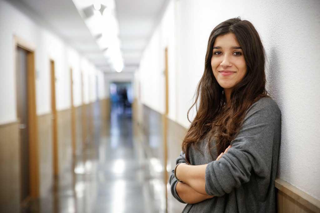 Laura Peris és claustral i membre del Consell de Govern de la Universitat de València. Foto: Miguel Lorenzo.