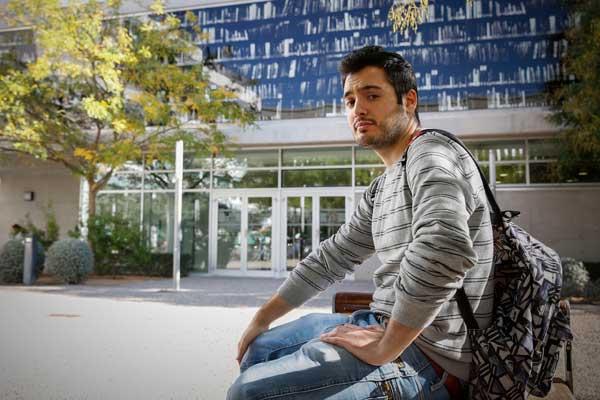 Pedro Blanco, estudiant de Dret a la Universitat de València, va estar onze mesos a Kyoto, antiga capital del Japó, amb un programa d'intercanvi de la institució acadèmica.