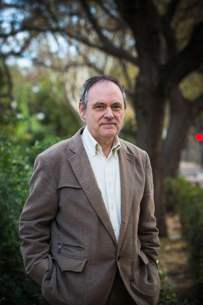 Antoni Ferrando, catedràtic de Filologia Catalana a la Universitat de València, s'ha especialitzat en història de la llengua i la cultura valencianes i ha editat nombrosos textos de l'Edat Mitjana i Moderna. Foto; Miguel Lorenzo.