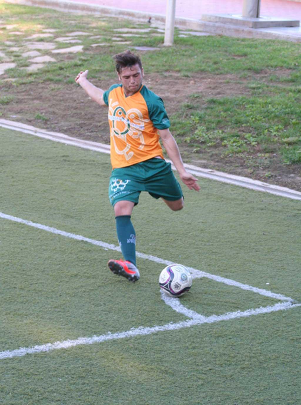 Equip de futbol de la Universitat de València.