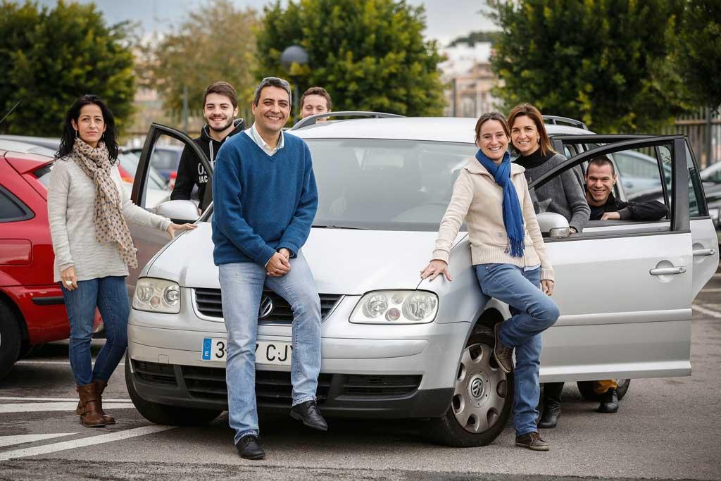 Compartir cotxe és la iniciativa guanyadora del Premi Green Idea 2014 de la Universitat de València, creada pel professor i secretari de l'Institut de Robòtica Juan José Martínez Durá. Foto: Miguel Lorenzo