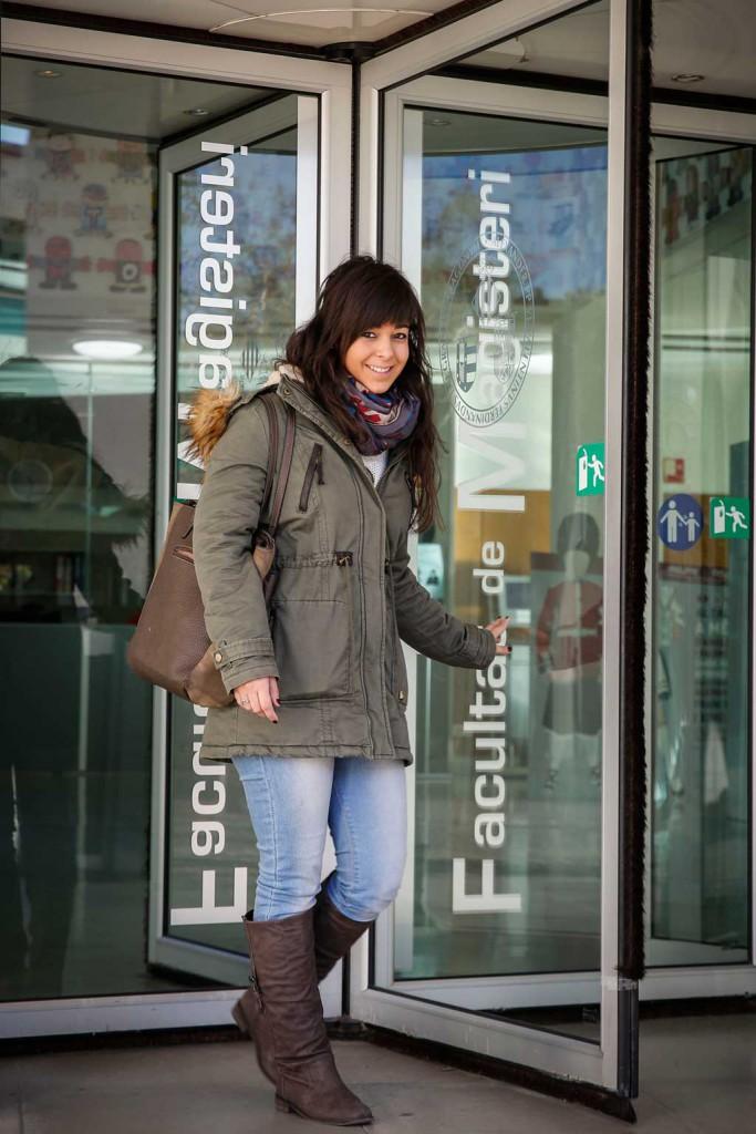 Gema Sánchez, graduada en Mestre/a d'Educació Infantil per la Facultat de Magisteri de la Universitat de València. Foto: MIguel  Lorenzo