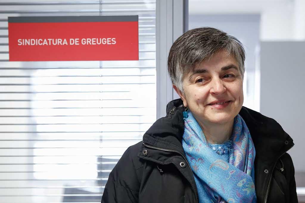 Elena Grau ha sigut elegida Síndica de Greuges pel Claustre de la Universitat, per un període de quatre anys. Foto: Miguel Lorenzo