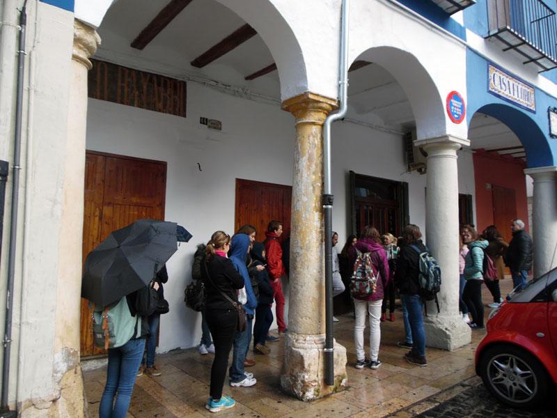 Visita al centre històric de Xàtiva.