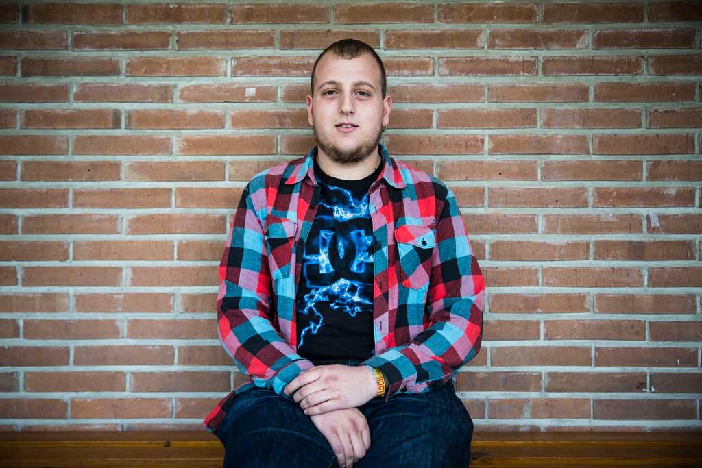 Francesc Gadea és estudiant de Física. És membre del Consell de Govern i pertany al BEA-ÍTACA. Foto: Miguel Lorenzo.