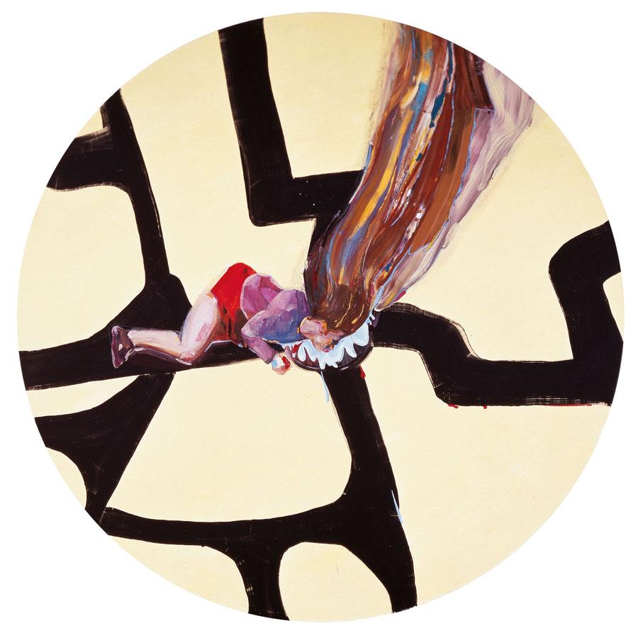 Obra Cataplaf, de Victoria Civera (2006), en l'exposició Itineraris d'una col·lecció, amb obres de la Fundació Coca-Cola dins de la sèrie Contextos del Patronat Martínez Guerricabeitia de la Fundació General de la Universitat.