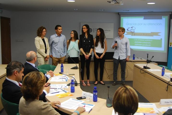 Alumnes participants de l'edició 2014 de Motivem. Foto: Adeit.