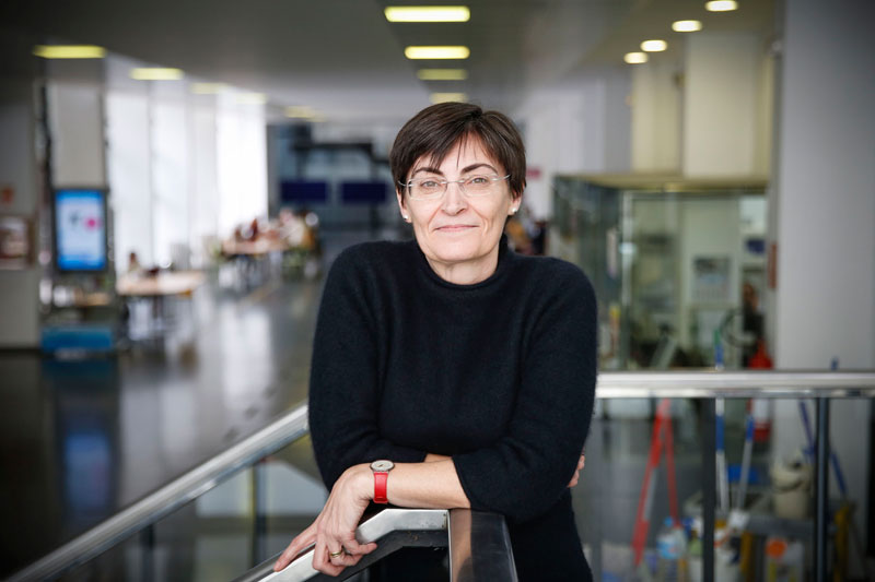 María Dolores Sancerni és la degana de la Facultat de Psicologia de la Universitat de València des del 2 de març. Foto: Miguel Lorenzo.