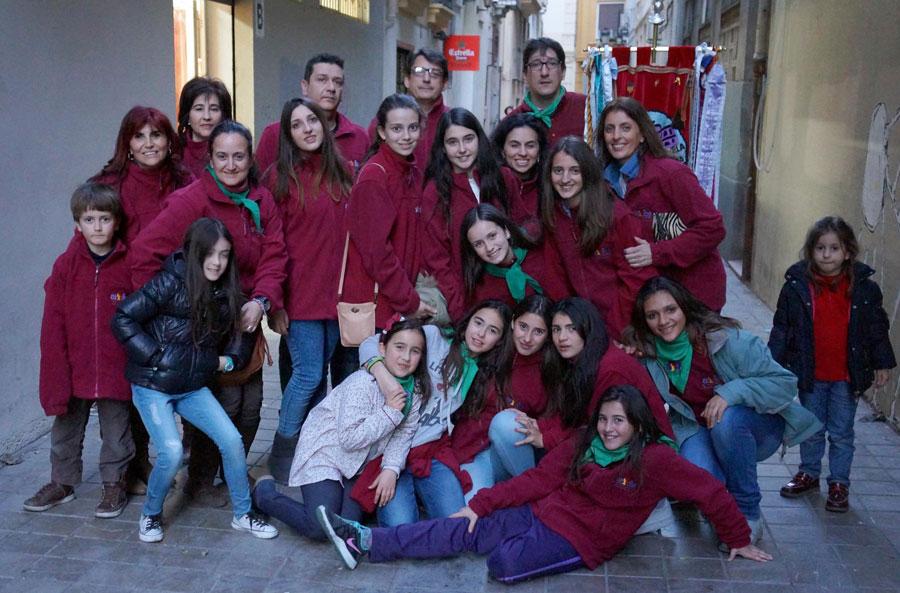 Integrants de la comissió Universitat Vella-Plaça del Patriarca.