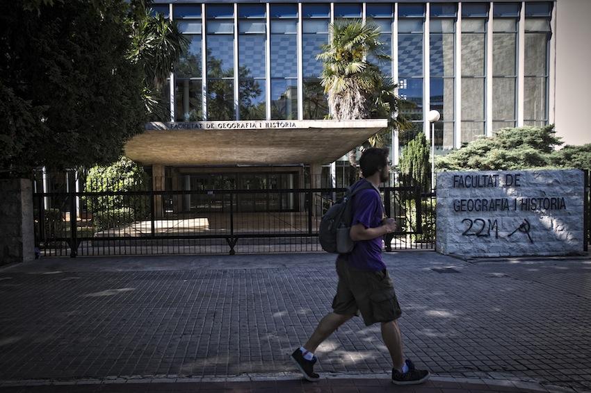 Facultat Geografia i Historia de la Universitat de València