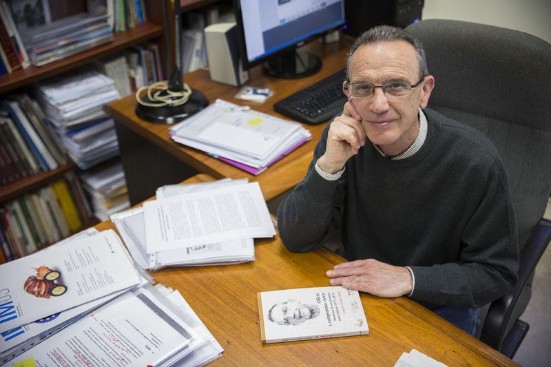 Josep Maria Jordan Galduf. Foto: Miguel Lorenzo.