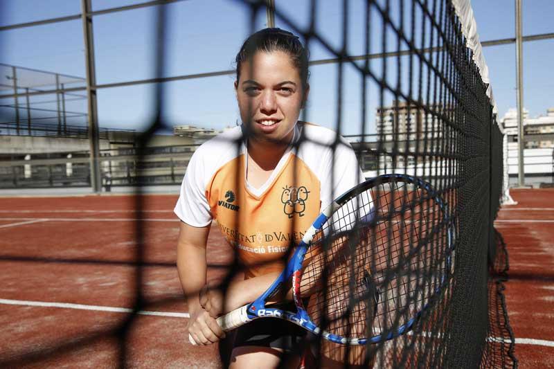 Medalla d'or en dobles mixt i medalla de plata en dobles femení amb una lesió de muscle, l'estratègia va ser un factor clau per a situar l'equip d'Ainhoa Zamora en el més alt del podi. Foto: Miguel Lorenzo.