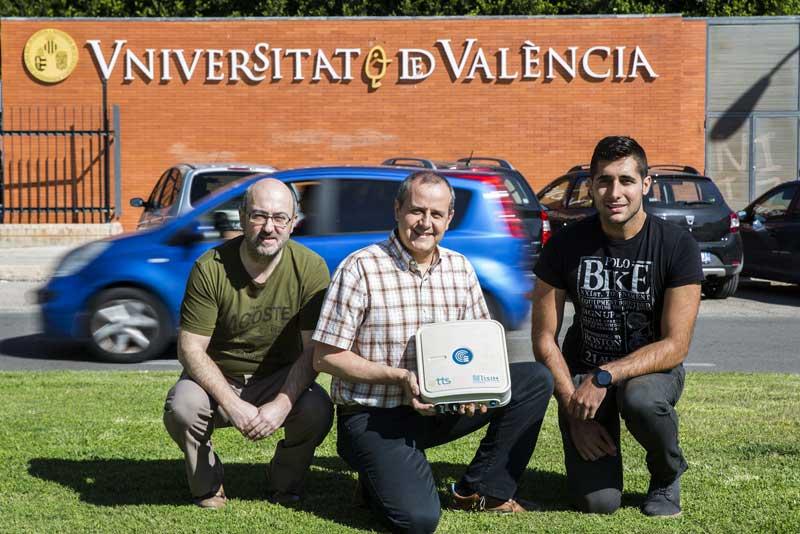 Javier Martínez, investigador del projecte B LISITT, el qual crea un sistema de sensors per a millorar el coneixement de les dades del trànsit a ciutats.