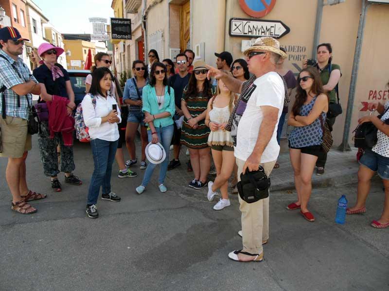 Xàtiva, Cullera, Requena i Bocairent han sigut les localitats visitades dins del marc del programa Erasmus al Territori.