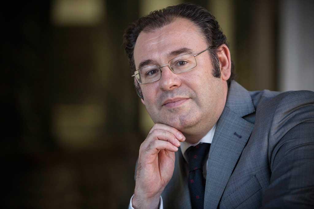 Guillermo Palao, vicerector d'Internacionalització i Cooperació de la Universitat de València. Foto: Miguel Lorenzo