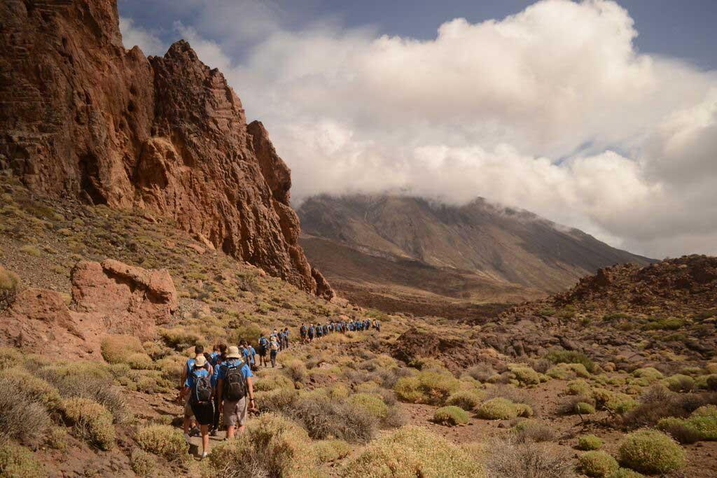 Una de les excursions de Ruta Siete, per l'illa de Tenerife.