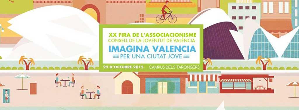 Aquest dijous 29 d'octubre té lloc la XIX Fira d'Associacions Juvenils del Consell de la Joventut de València.