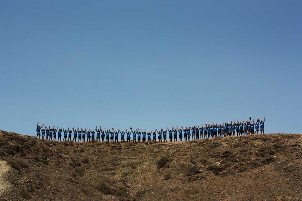 Han sigut quaranta-cinc els i les participants en la Ruta Siete, dos dels quals de la Universitat de València.