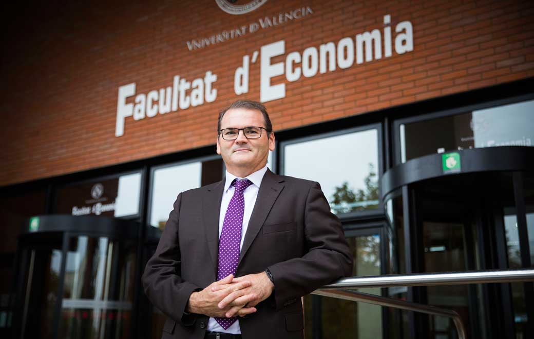José Manuel Pastor, degà de la Facultat d'Economia.