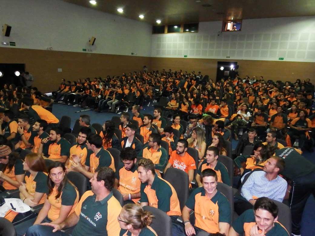 Públic assistent a la Gala de l'Esport.