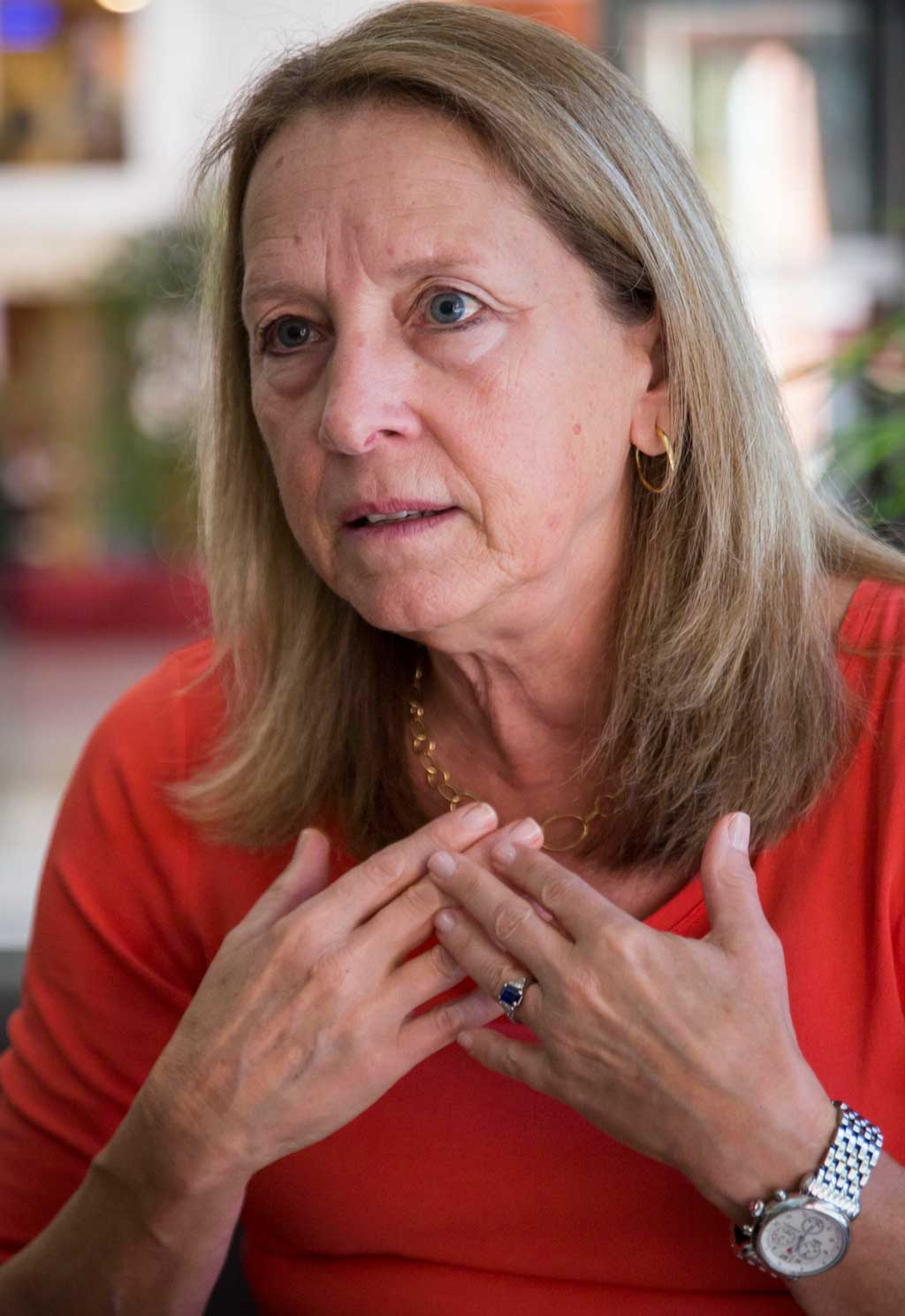 La trajectòria de Donna Hicks, experta en mediació, passa per conflictes com els d'Orient Mitjà, Cuba o Irlanda del Nord i també per treballs en el món de l'empresa privada.