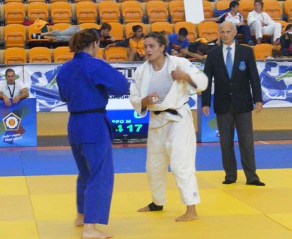 Competició de judo.