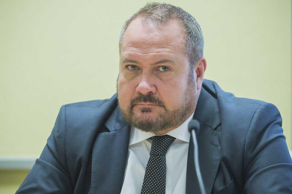 uan Ignacio Ruiz, director del projecte Training of National Judges in EU a la Universitat i professor de la institució acadèmica, durant les jornades.