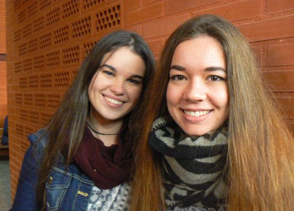 Ana-Risquez i Lynn Koopman, intervinents a la jornada.