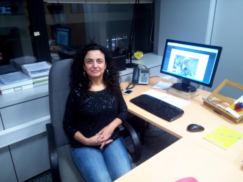 Mara Bravo, directora del projecte.
