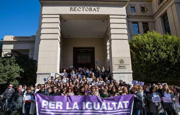 VALENCIA 8/3/2016DIA DE LA MUJER EN EL RECTORADOFOTO MIGUEL LORENZO