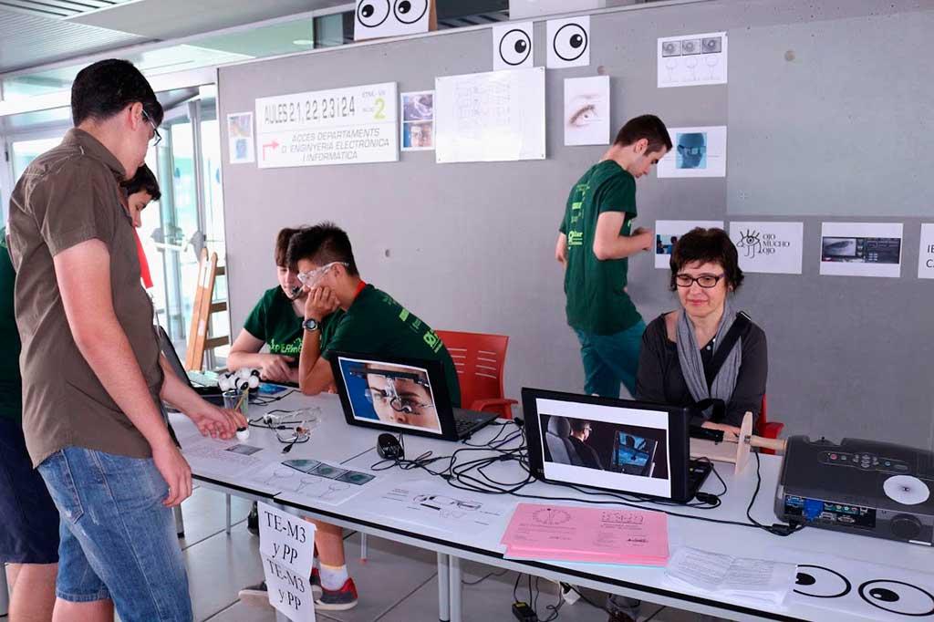 Chantall Ferrer, a la dreta de la imatge.
