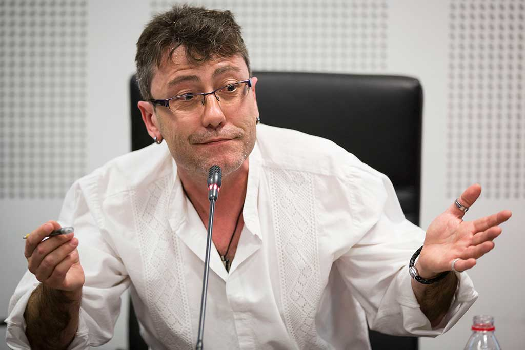 José Asensio, director del documentall.