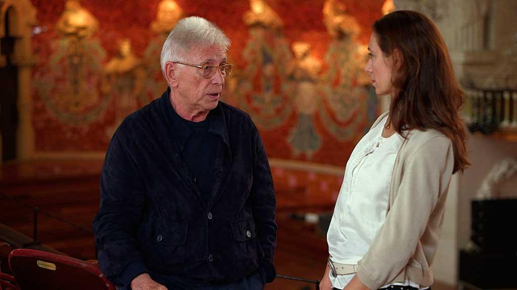 Raimon i Rossana Pastor, durant la presentació del video.