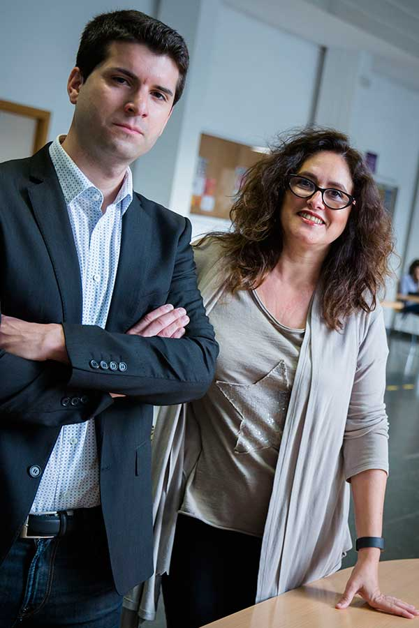 Ángel Romero i Marisol Lila.