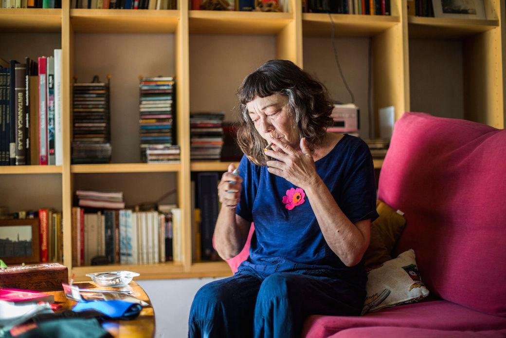Forografia d'Eva Mañez, inclosa en l'exposició.