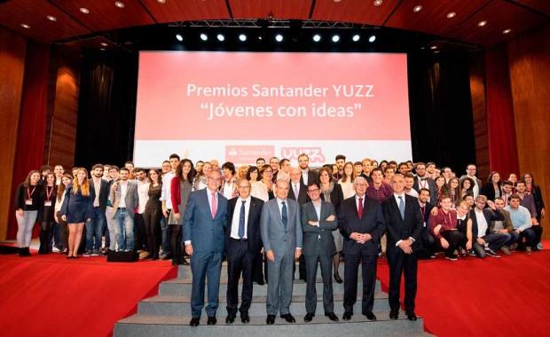 Imatge del lliurament dels premis Yuzz.