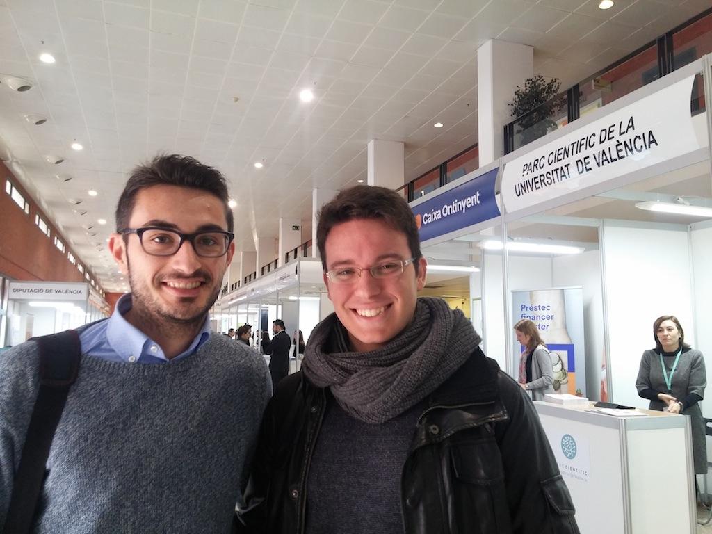 Bernat Pérez i Antonio Gimeno.