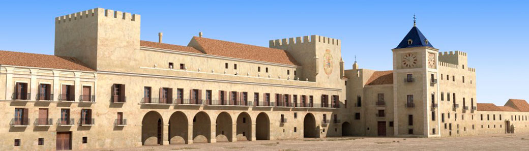 """Enyego d'Àvalos va ser un """"valencià d'adopció"""": va passar la seua infància i joventut en el desaparegut Palacio del Real de València, quan aquesta ciutat era la capital de la Corona d'Aragó."""