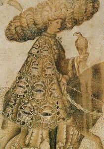 """El """"Curial"""" és una novel·la molt italiana per les seues fonts literàries, geografia, onomàstica, ambientació, llenguatge, etc. (dibuix del Pisanello, dècada de 1440)"""